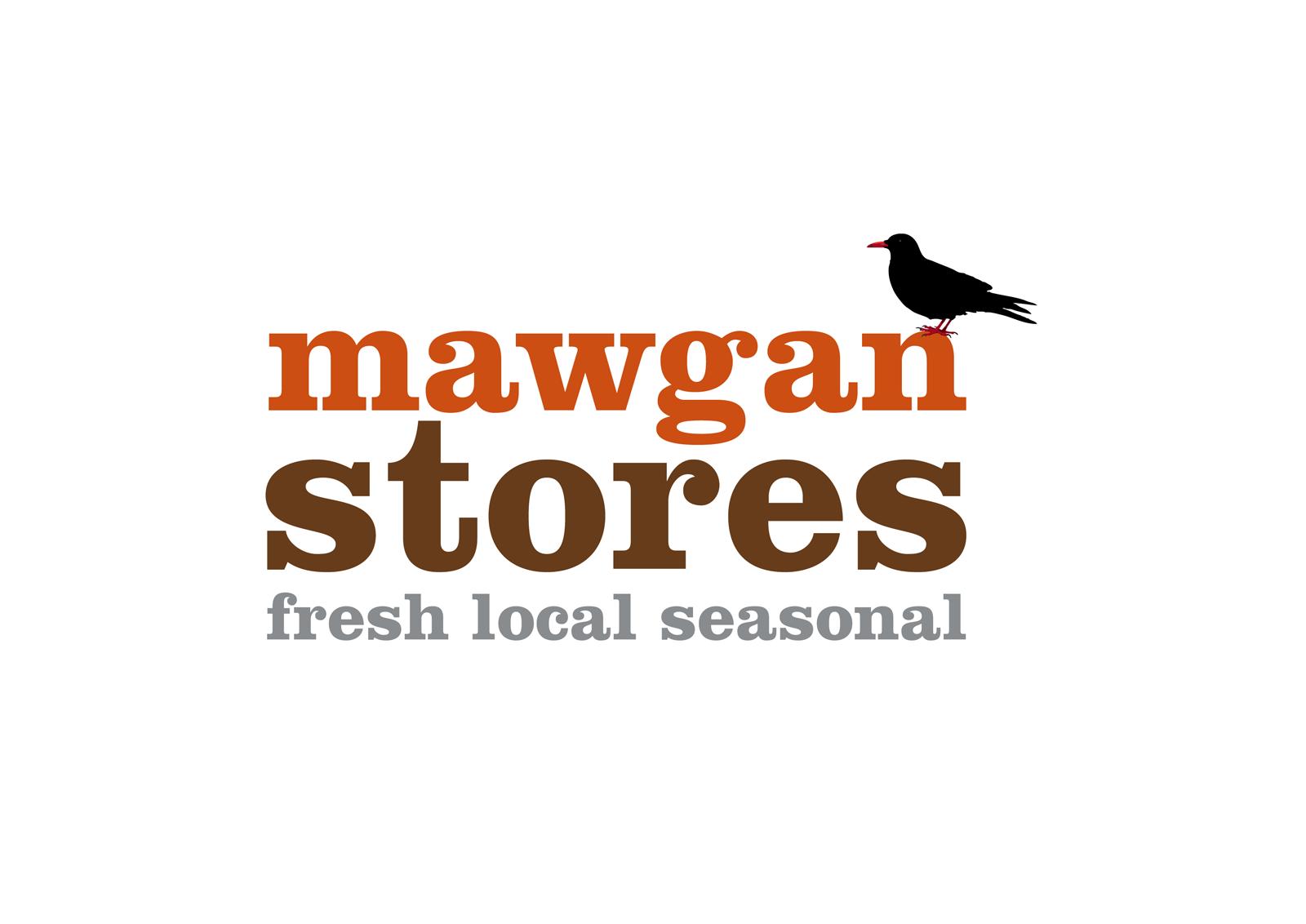 Mawgan Stores Logo Design